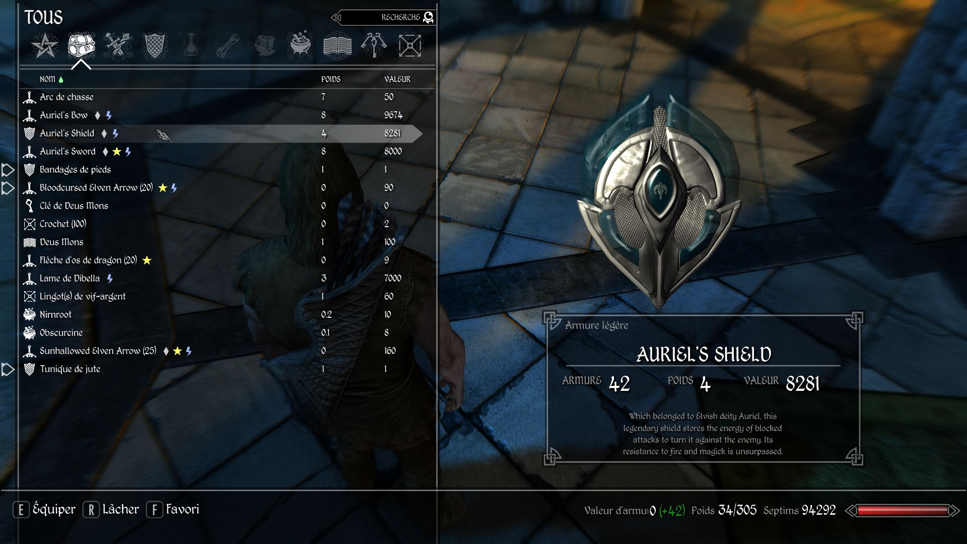 skyrim ward shield mod
