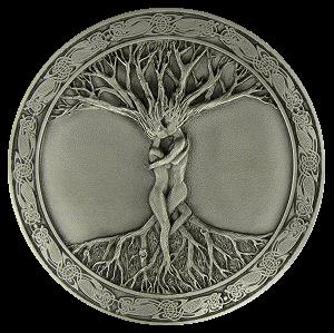 Amour celtique sous l'arbre de vie