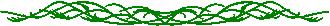 Petite frise elfique verte